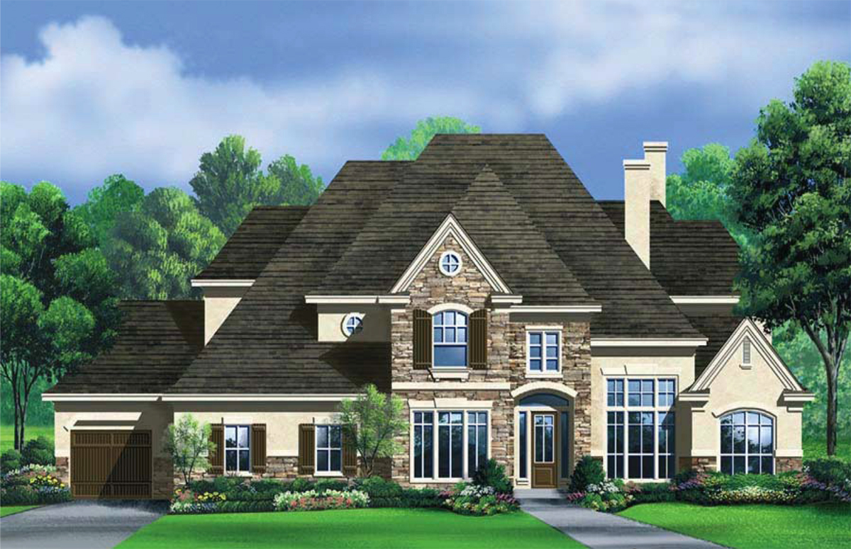 Smart placement custom home plan ideas building plans for Custom home online